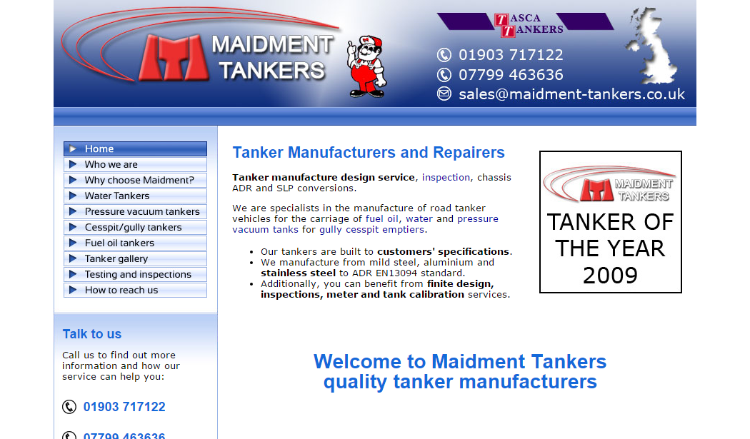 Maidment Tankers